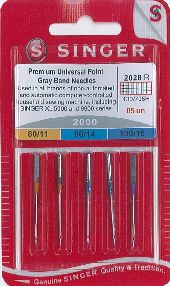 Singer Embroidery Needles NG2000-ASST-5