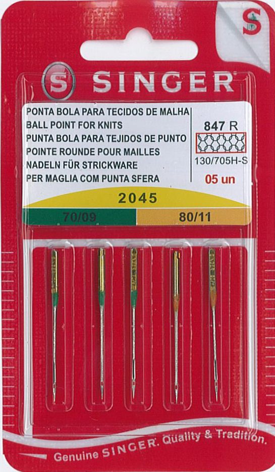 Ballpoint / Stretch Fabric Needles NG2045-ASST-05