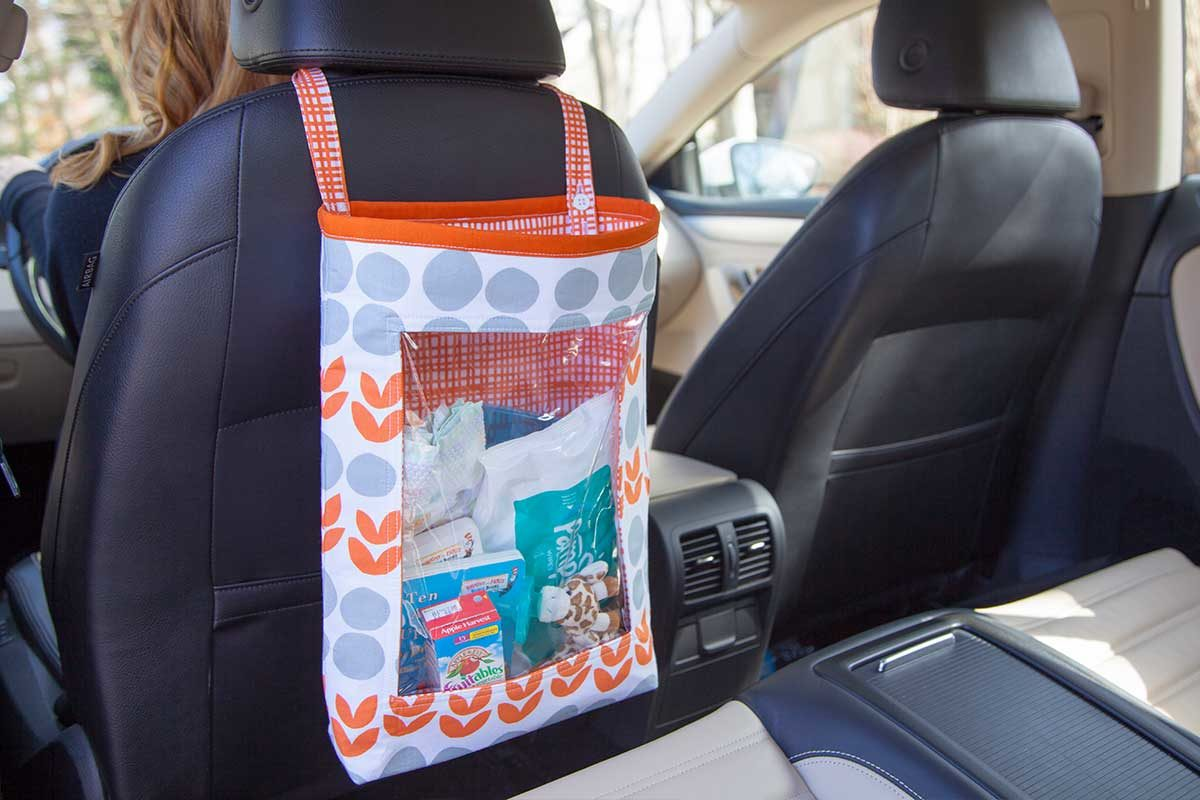 Singer Car Organiser Tote Bag