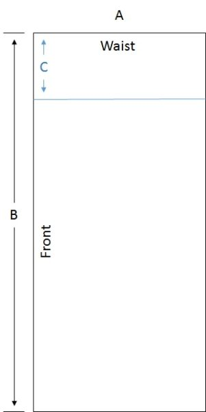 Pyjamarama PJ Pants Diagram 1