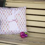 Easter Bunny Applique Cushion