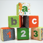Foam Toy Blocks with Appliques