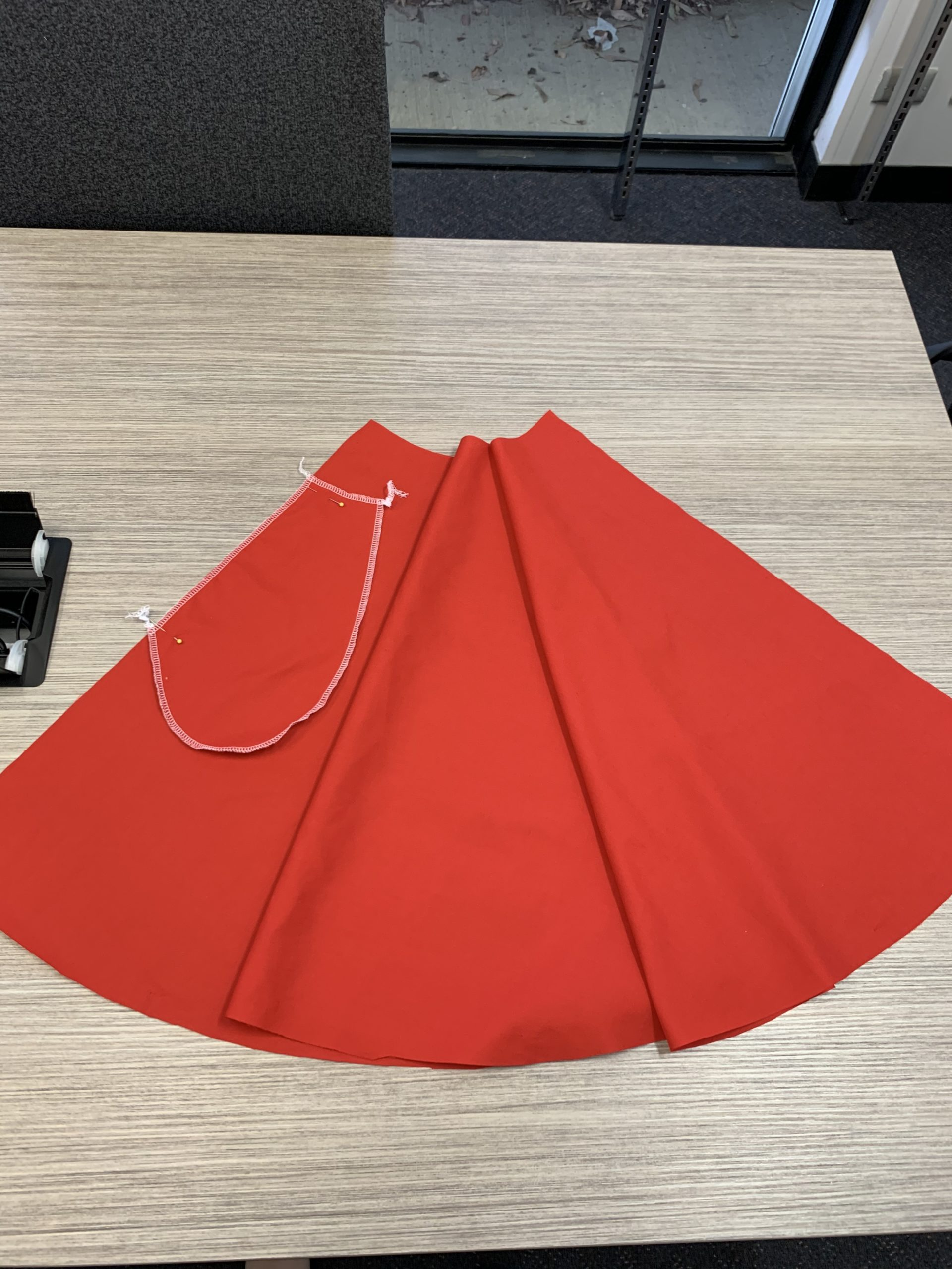 Cutting Christmas dress 2