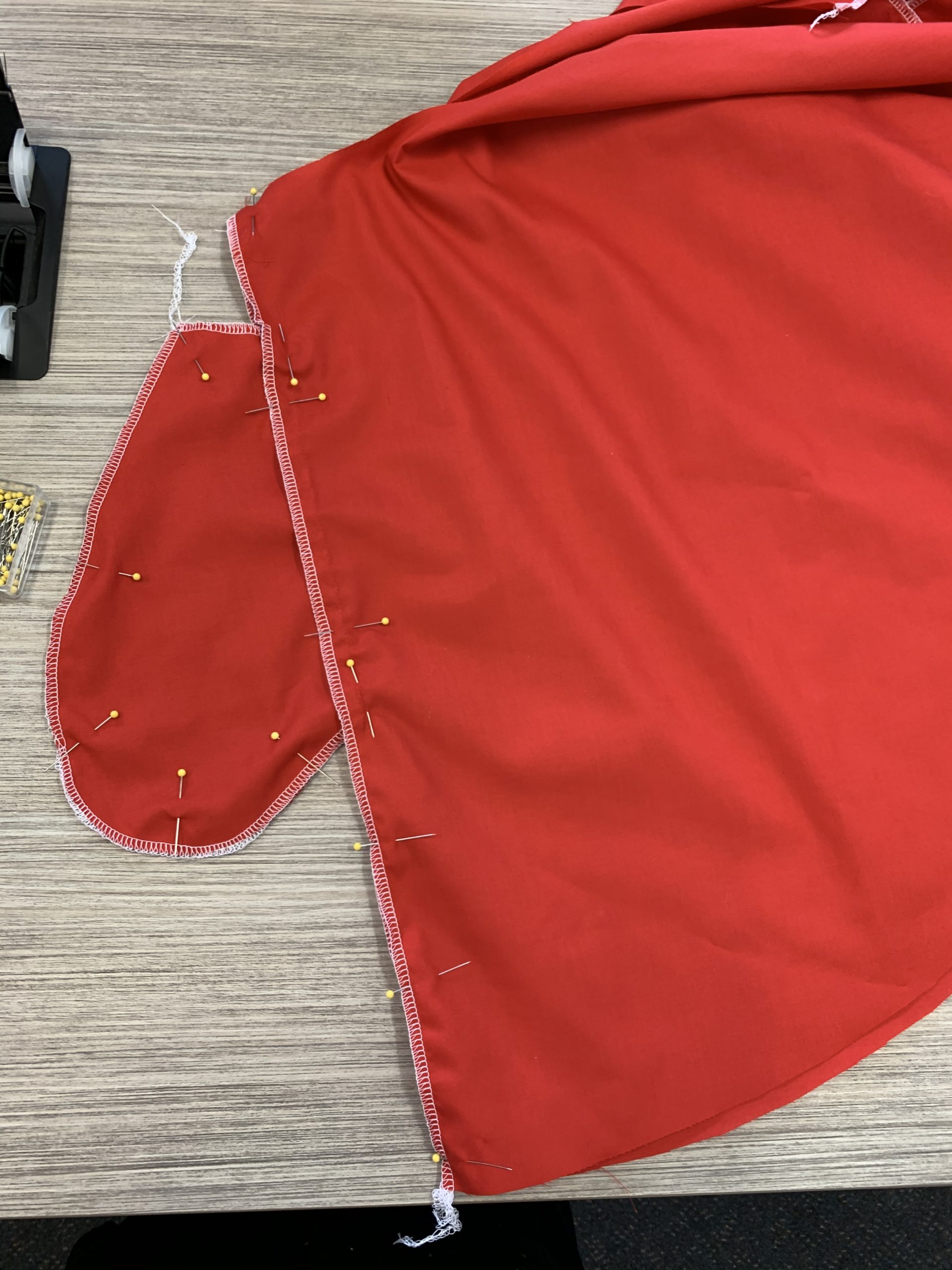 Construction step 7 Christmas Dress