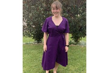 Wrap Dress with Pockets