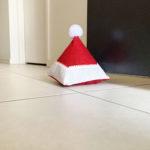 Santa Hat Door Stop