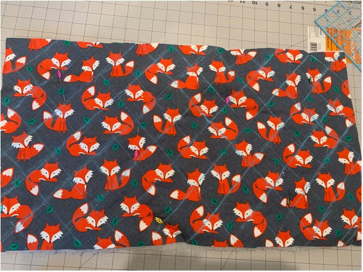 quilted pet blanker step 4